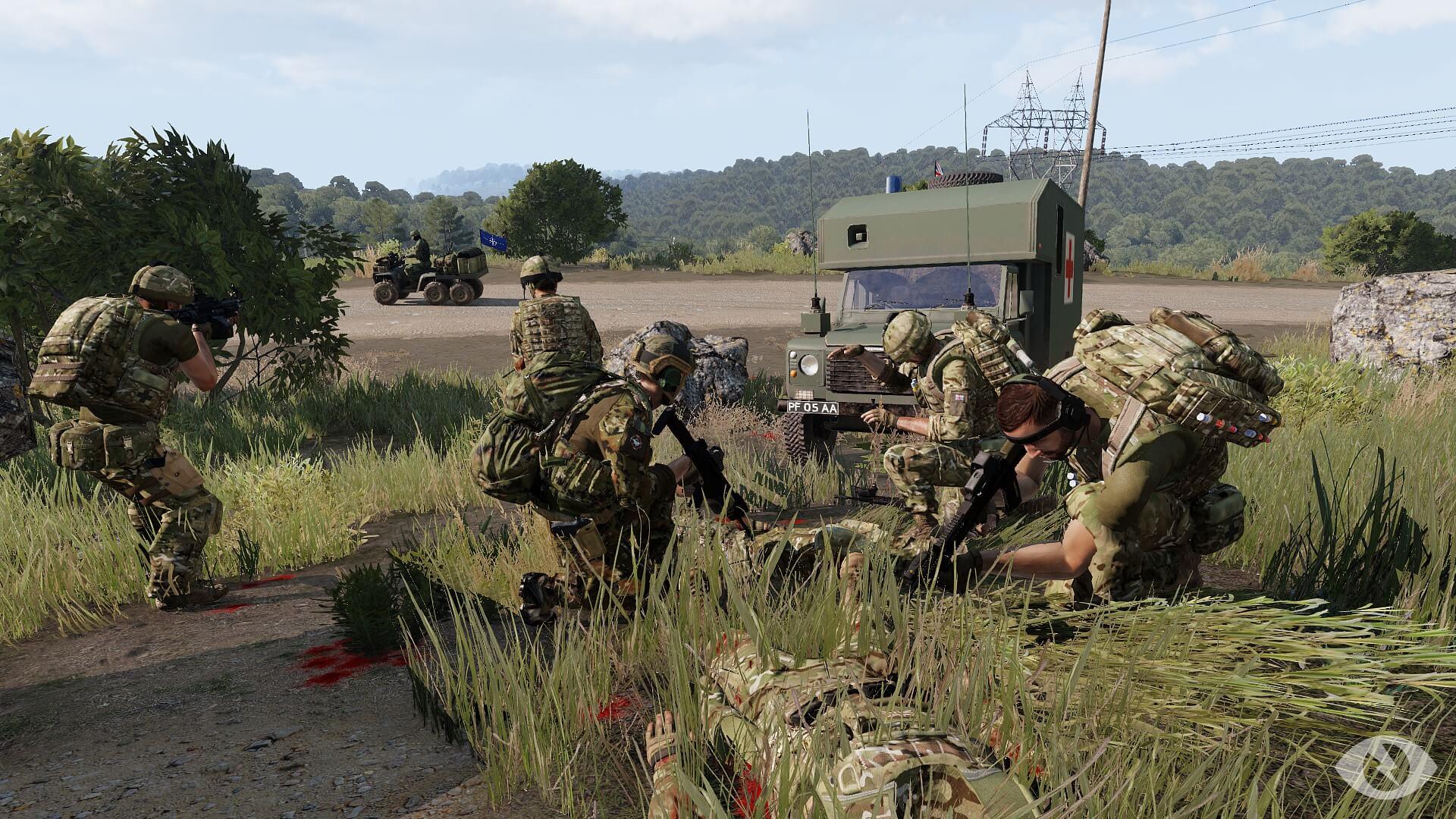 DAY 3 - Punto medico avanzato gestito dal contingente Britannico